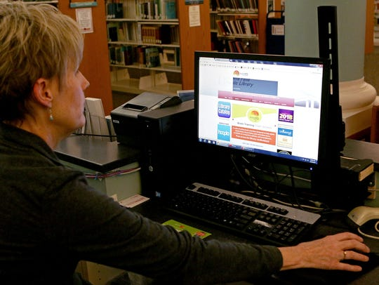 Kathy Vossler, library information and operations supervisor,