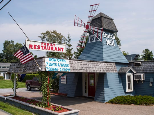 The Dutch Mill Restaurant on Route 7 in Shelburne.