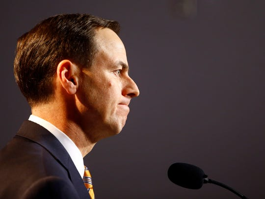 University of Tennessee athletic director, John Currie