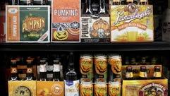 Pumpkin beers rush the season.