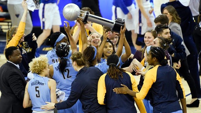 The Marquette women's basketball team won the Big East title last season.