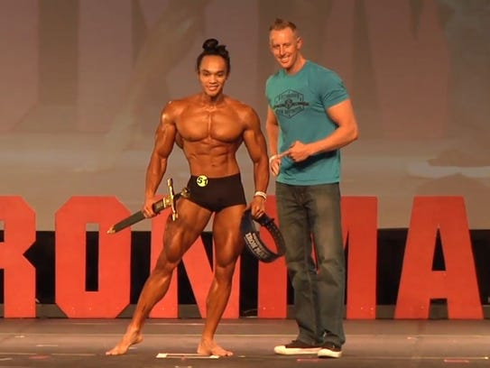 Russky Peru competed in the 2017 NPC Washington IronMan