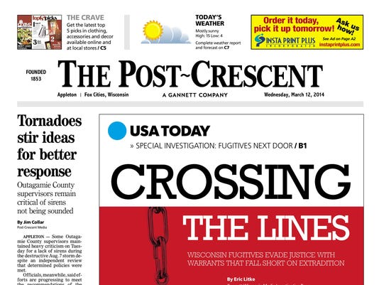 the post crescent march 12 2014