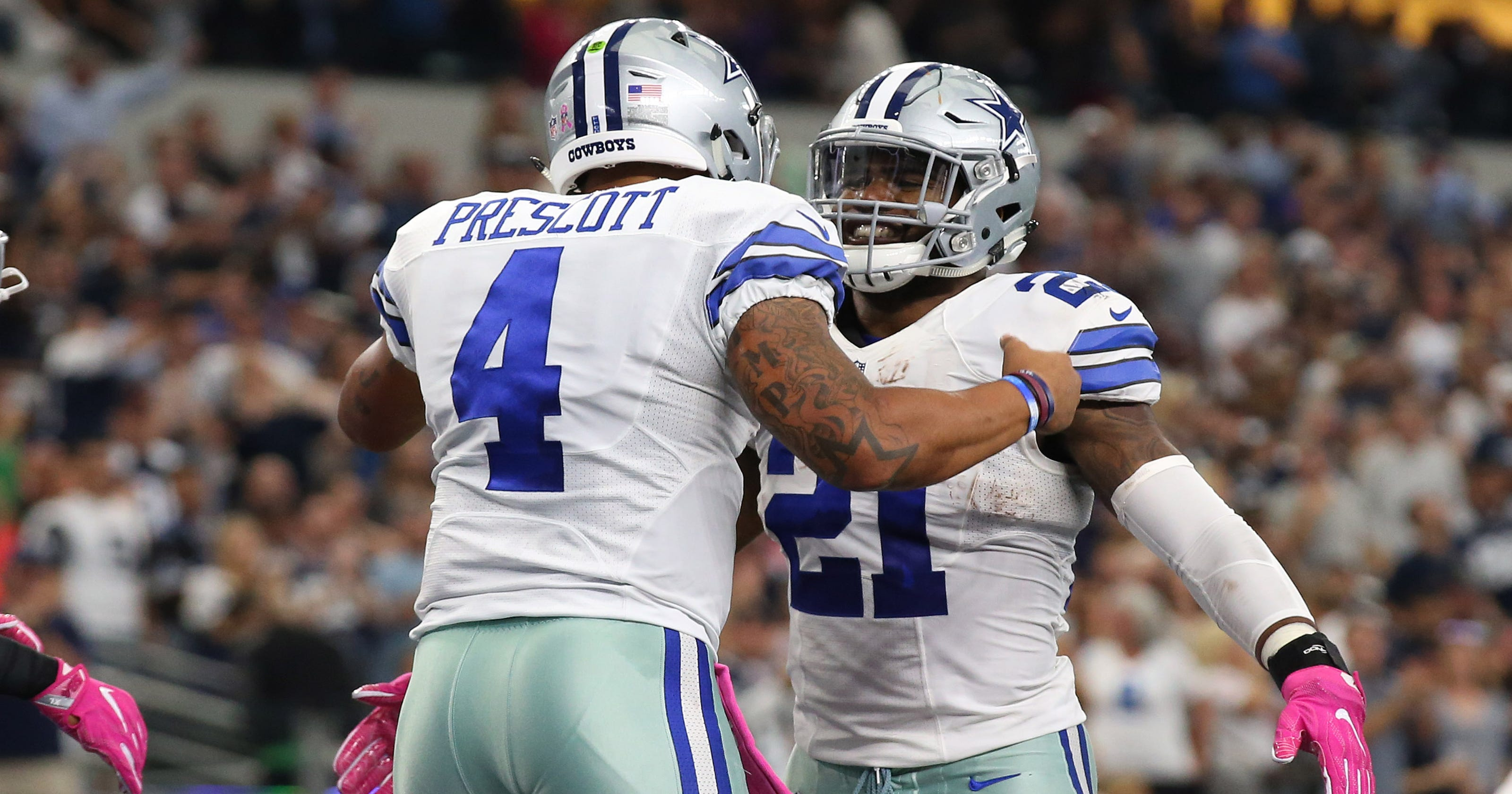 Cowboys Raiders Players Highlight 2017 Pro Bowl Rosters