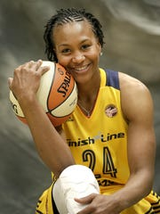 Fever forward Tamika Catchings
