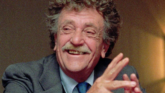 Author Kurt Vonnegut, 1922-2007.