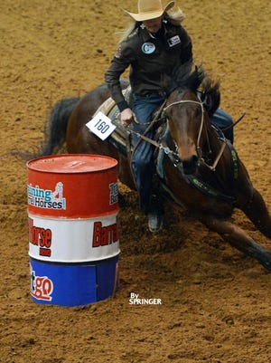 Barrel racer Jana Bean will compete on Friday night at the El Paso County Coliseum. She is a two-time qualifier for the National Finals Rodeo.