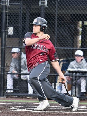 Bloomfield's Danny Carter batted .488 with two homers, 15 doubles, 20 RBI, 21 stolen bases, 29 runs, a slugging mark of .766 and on-base percentage of .570 this season.