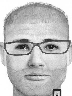 This is a sketch of the Two Rivers armed robbery suspect.