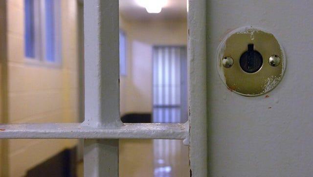 A file photo shows a view inside a Wichita County Jail.
