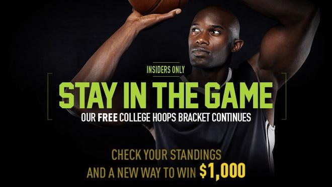 Insiders Free College Hoops Bracket