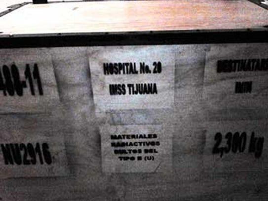 mexico radioactive truck load
