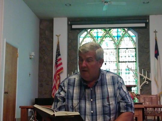 Rev. Art Penird, pastor of Endwell Christian Union