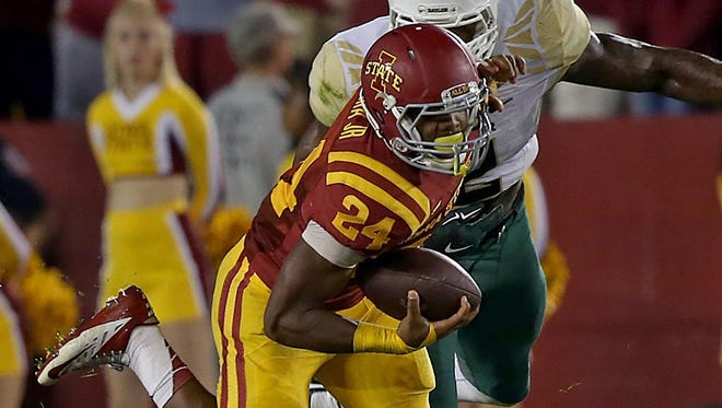Iowa State announced Tuesday that running back Martinez Syria has been dismissed from the team.