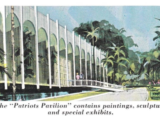 An artist's rendering of Cape Coral Gardens, which