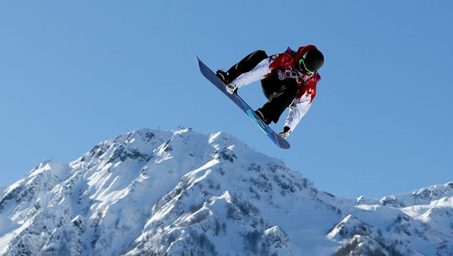 Maxence Parrot of Canada earns a spot in the slopestyle final.
