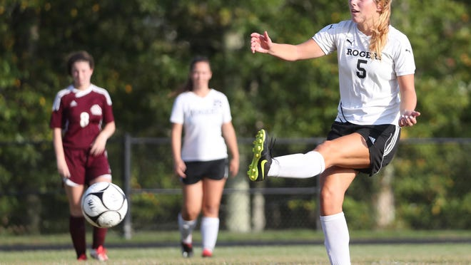 Mackenzie Palmer was an all-county performer on the soccer pitch for Rogers during her senior season.
