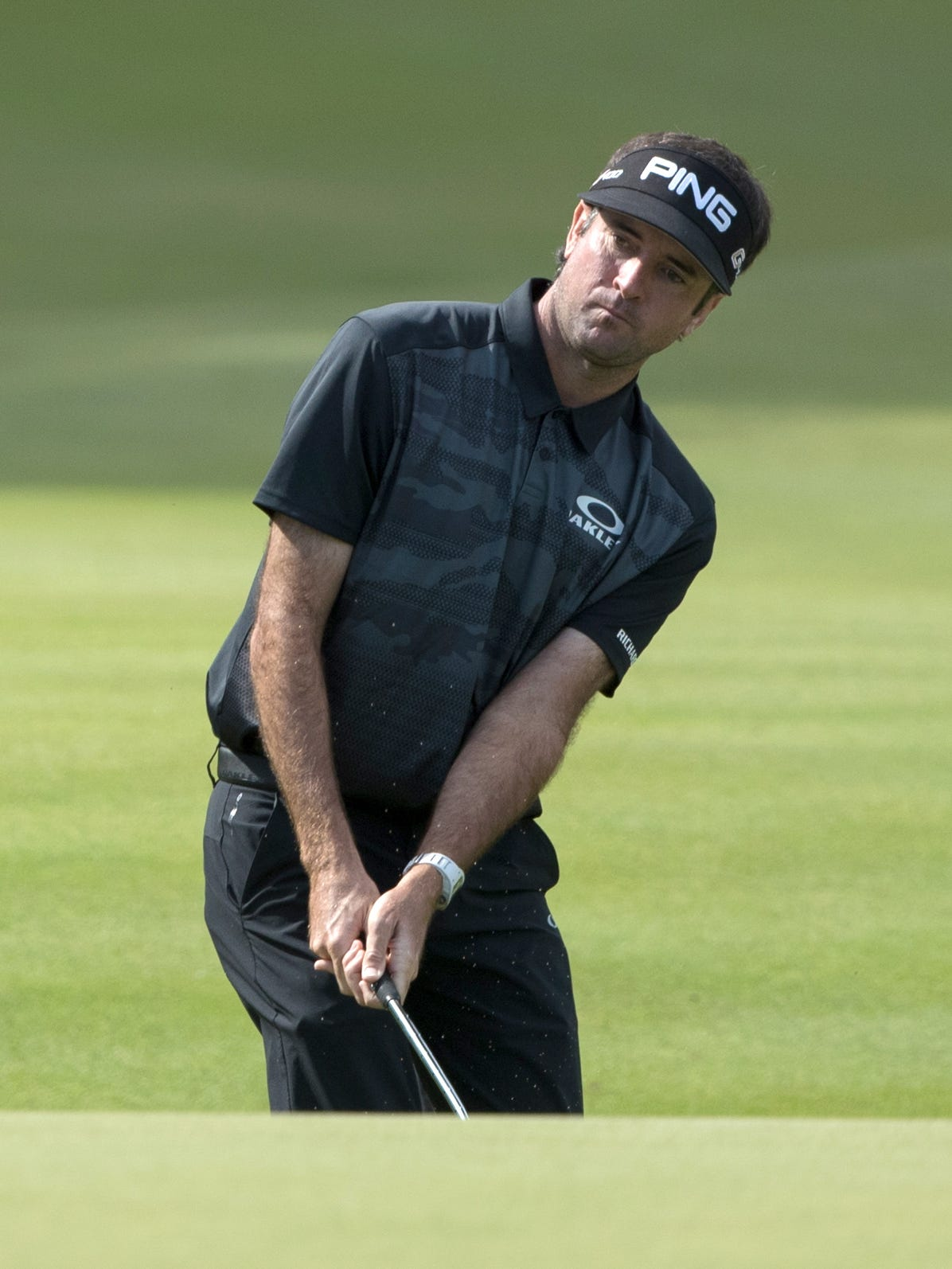 travelers  bubba watson bounces back with 63 in travelers