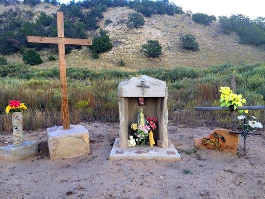 memorial near corona