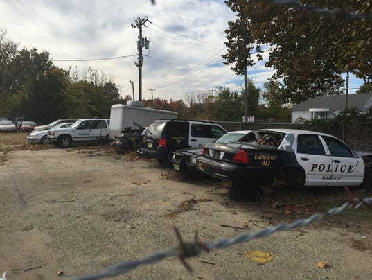 Millville municipal impound lot