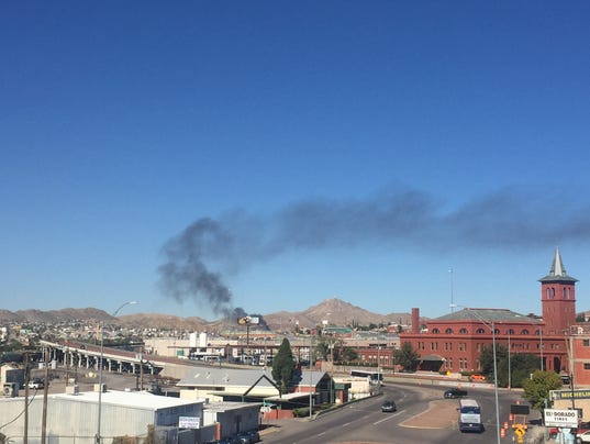 Juarez fire Nov. 3