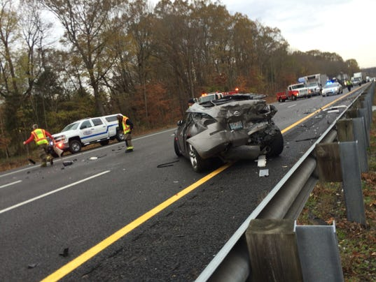 Deer Caused I 24 Wreck That Led To Chain Reaction Crashes
