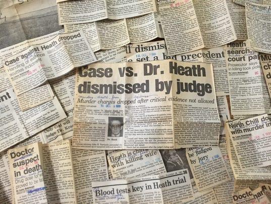 Dr. Heath newspaper clips