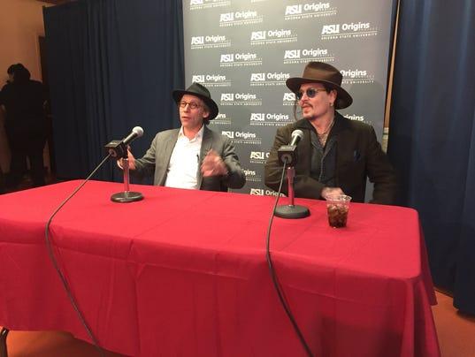 Johnny Depp at ASU