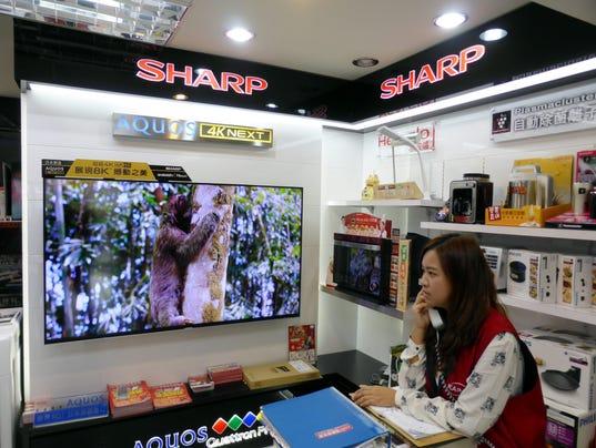 EPA TAIWAN JAPAN ECONOMY SHARP FOXCONN EBF COMPANY INFORMATION TWN