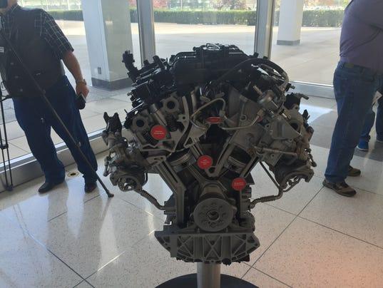 Ford redesigned, 3.5-liter, V-6 EcoBoost engine will produce 365