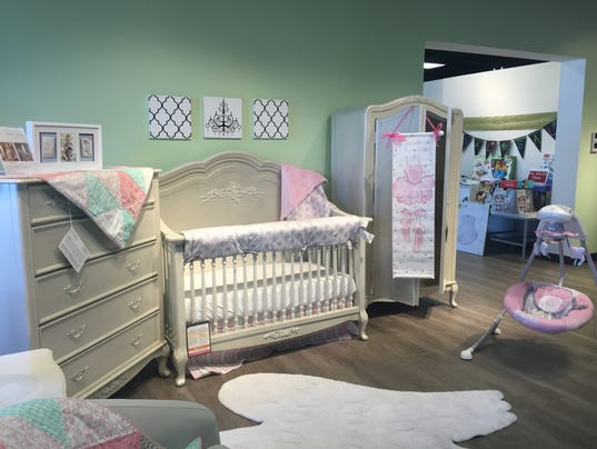 Upscale furniture store focuses on baby market