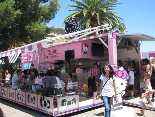 Hello Kitty Cafe Opens in US