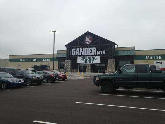 Need to know what time Gander Mountain in Lansing opens or closes, or whether it's open 24 hours a day? Read below for business times, daylight and evening hours, street address, and more. Gander Mountain sporting goods stores mainly specialize in outdoor recreation and sports equipment.