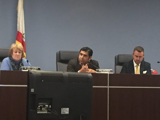 Salinas City Council meeting