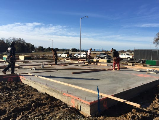 Home construction in Redding