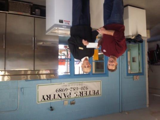 Hallman Lindsay Paints pantry donation