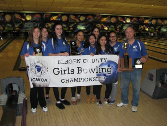 Holy Angels girls bowling county champion
