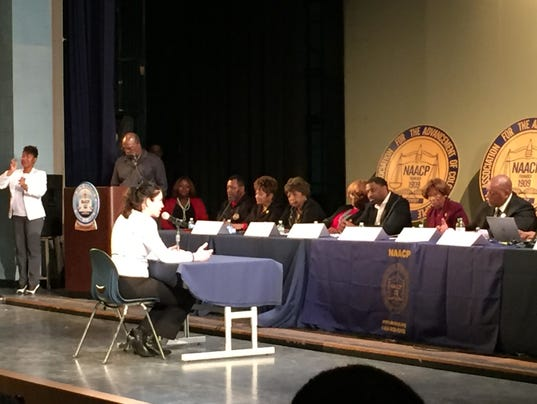 NAACP hearing