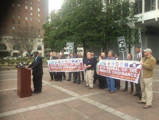 Unions seek delay of impasse vote