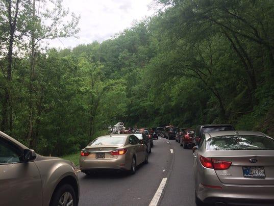 Gatlinburg traffic