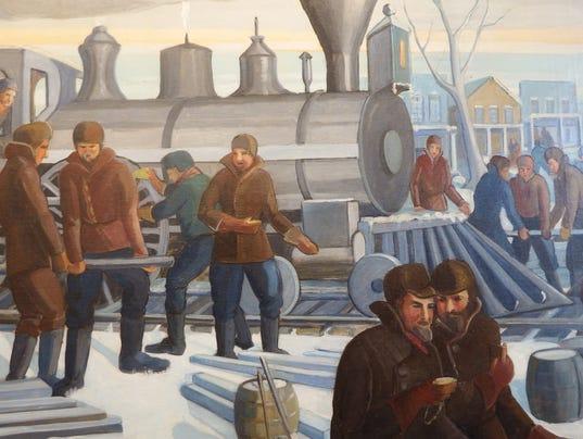 """Pelzer's """"Railroad Arrives"""" 4"""
