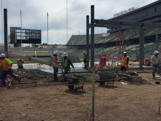 FTC0611 sp CSU stadium work