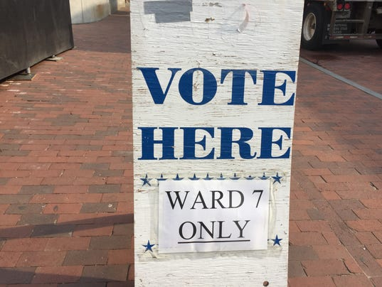June election for Burlington Ward 7