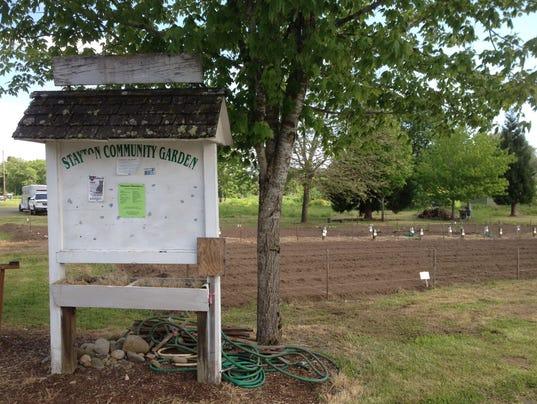 Stayton Community Garden