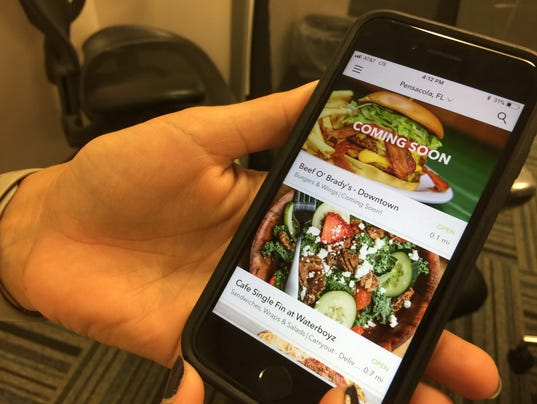 Waitr food-delivery app