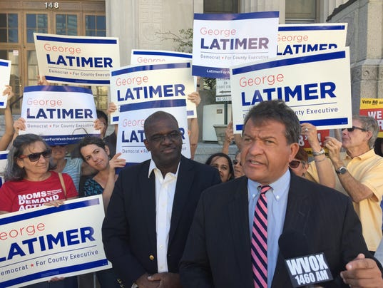 George Latimer in White Plains