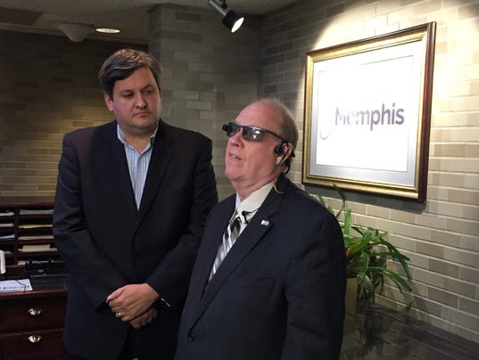 New technology for blind, visually impaired