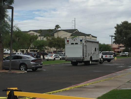 Phoenix police standoff