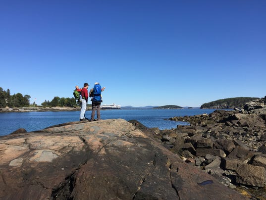Hiking in Maine