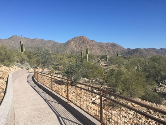 Lost Dog Wash trail opens